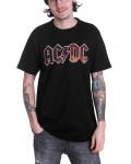 AC/DC - Voltage Logo Black Men's T-Shirt