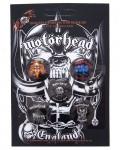 Motorhead - England Button Badge Pack