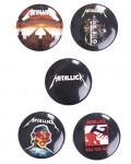 Metallica - Hardwired To Self-Destruct Button Badge Pack