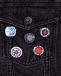 Red Hot Chili Peppers - I'm With You Button Badge Pack
