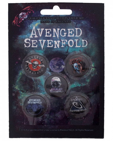 Avenged Sevenfold - The Stage Button Badge Pack