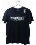 Beatles - 8 Days A Week Movie Poster Black Men's T-Shirt