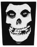 Misfits - Face Skull Back Patch