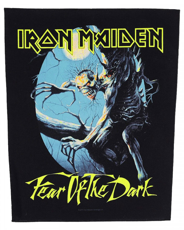 Iron Maiden - Fear Of The Dark Back Patch