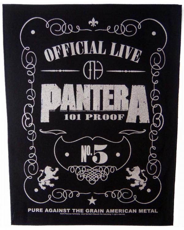 Pantera - 101% Proof Back Patch