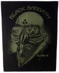Black Sabbath - Us Tour '78 Back Patch