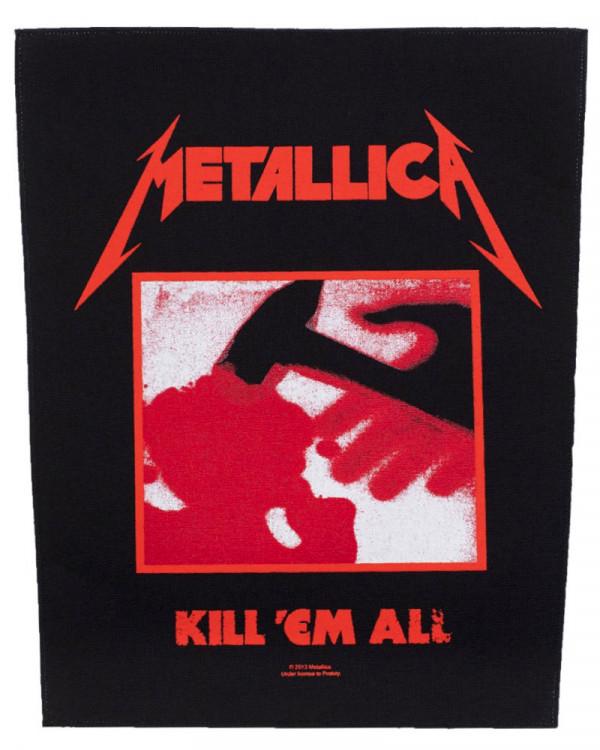 Metallica - Kill Em All Back Patch
