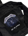Metallica - Ride The Lightning Back Patch