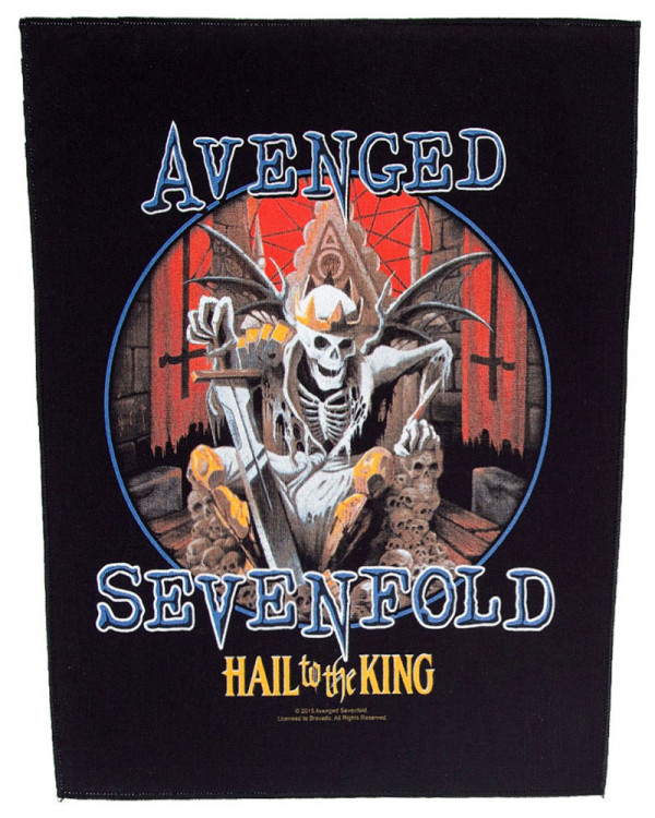 Avenged Sevenfold - Hail To The King Back Patch