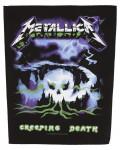 Metallica - Creeping Death Back Patch
