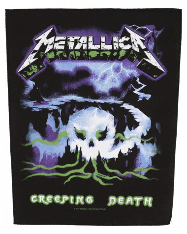 Metallica - Creeping Death Back Patch