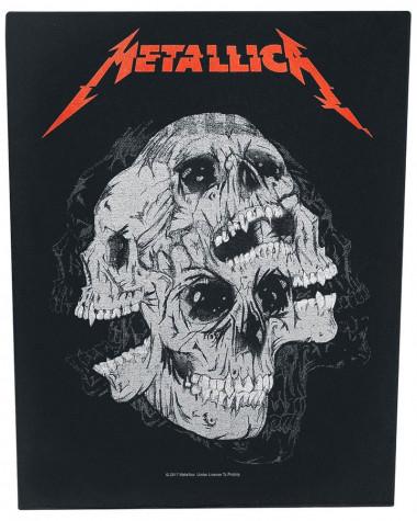 Metallica - Skulls Back Patch