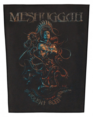 Meshuggah - Violent Sleep Of Reason Back Patch