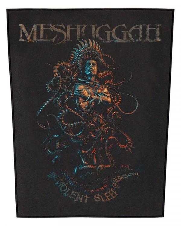 Meshuggah - Violent Sleep Of Reason Back Patch