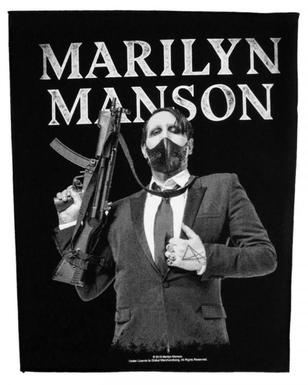 Marilyn Manson - Machine Gun Back Patch