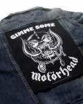 Motorhead - Gimme Some Back Patch