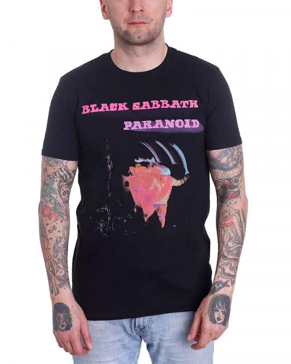 Black Sabbath - Paranoid Motion Trails Men's T-Shirt