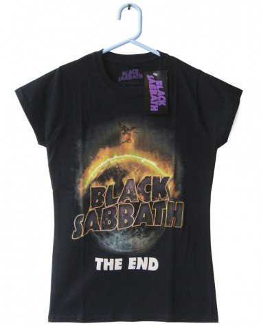 Black Sabbath - The End Women's T-Shirt