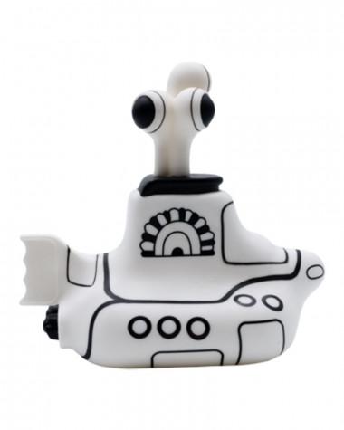 Beatles - Black & White Sub Titans Vinyl Toys