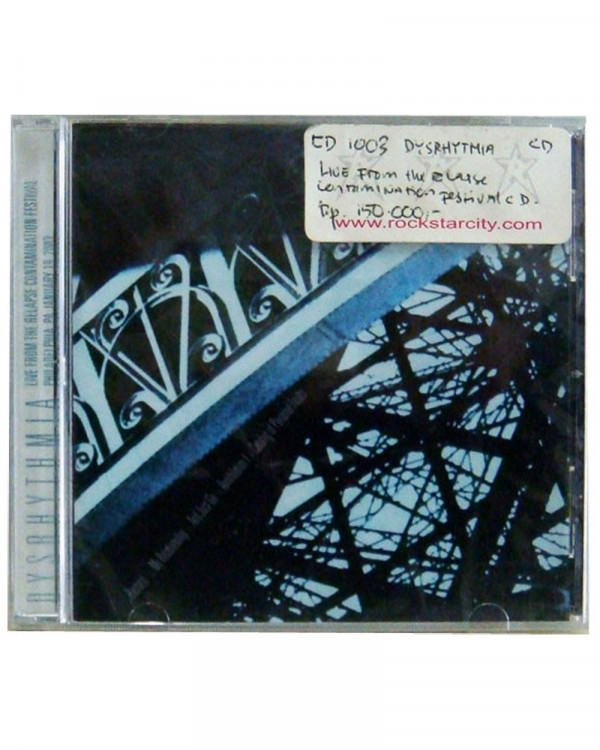 Dysrhythmia - Live from the Relapse Contamination Festival CD