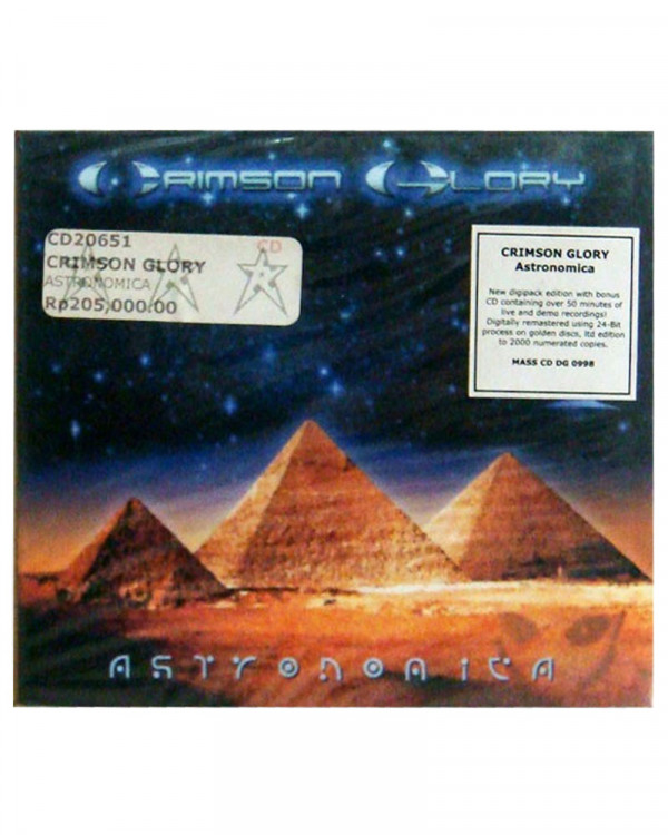 Crimson Glory - Astronomica CD