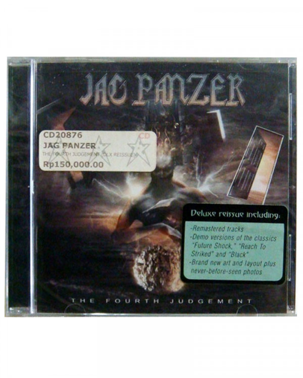 Jag Panzer - The Fourth Judgement CD