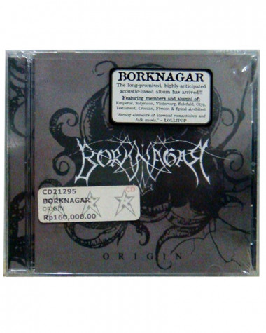 Borknagar - Origin CD