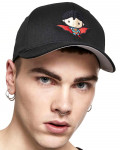 Superman - Comic Black Baseball Cap