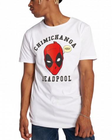 Deadpool - Chimichanga White Men's T-Shirt