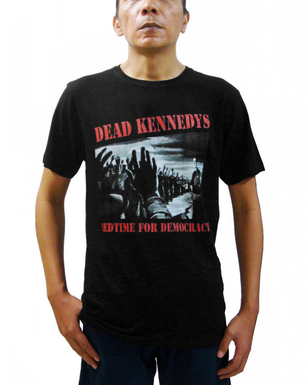 Dead Kennedys - Bedtime For Democracy Black Men's T-Shirt