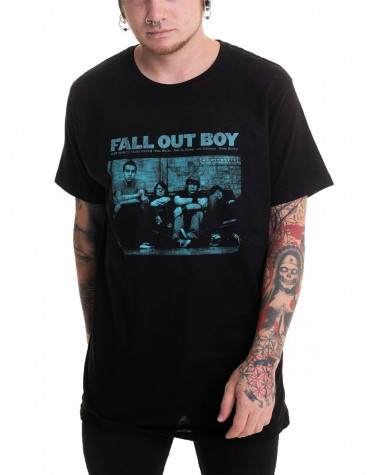 Fall Out Boy - Take This To Your Grave Black Men's T-Shirt