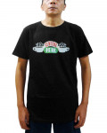 Friends - Central Perk Classic Logo Black Men's T-Shirt
