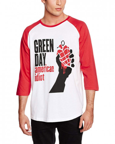 Green Day - American Idiot Men's Baseball Jersey
