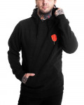 Godfather - Rose Black Men's Pullover Hoodie