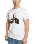 Godfather - Painted Portrait White Men's T-Shirt