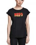 Kiss - Classic Logo Black Women's T-Shirt