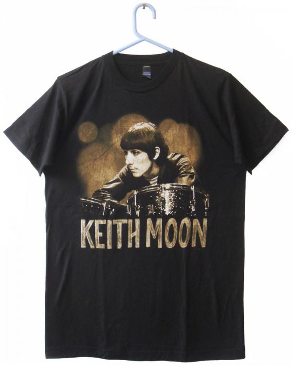 Keith Moon - Ready Steady Go Black Men's T-Shirt