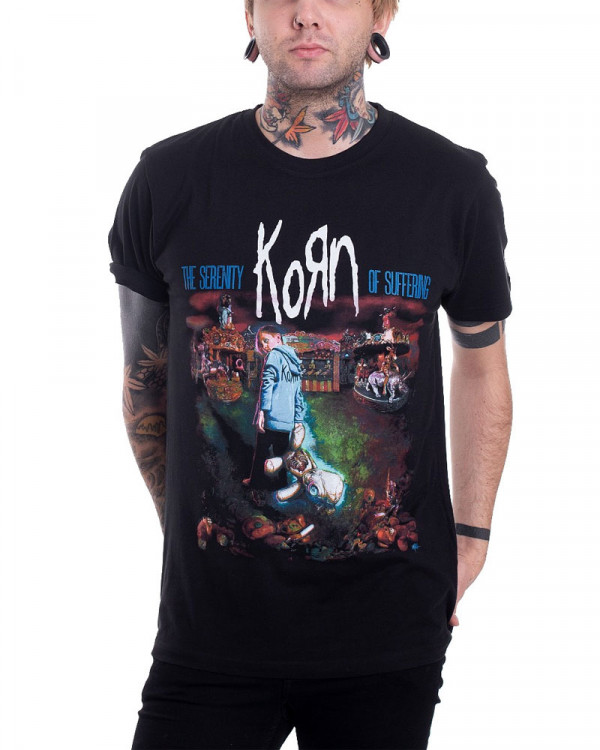 Korn - Circus Black Men's T-Shirt