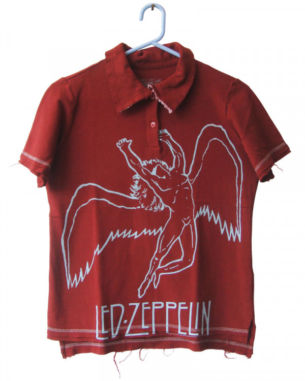 Led Zeppelin - Swan Women's Polo Shirt