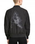 Linkin Park - Smoke Logo Black Women's Light Aviator Jacket