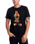 Looney Tunes - Marv Japan Splice Poster Black Men's T-Shirt