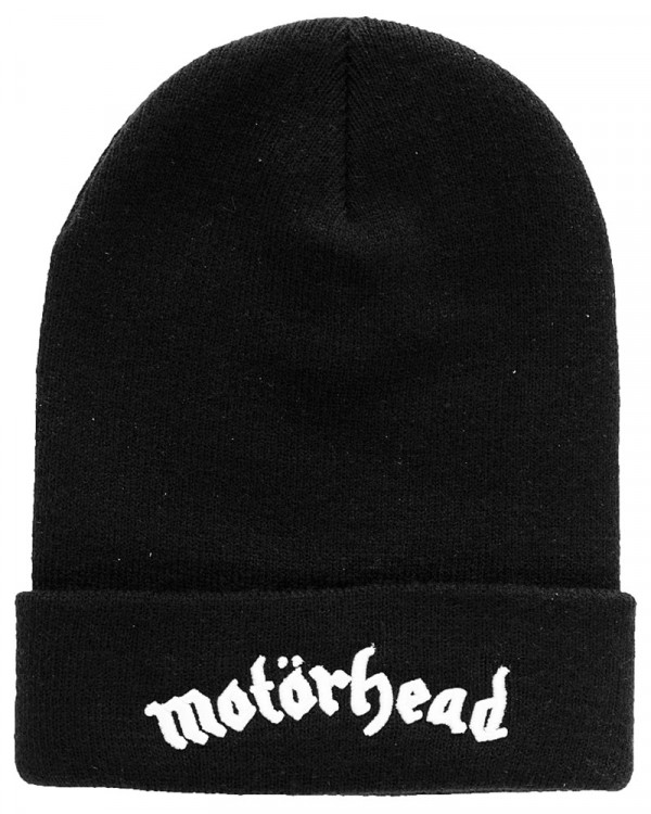 Motorhead - Logo Black Beanie