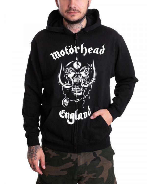 Motorhead - England Men's Zip Hoodie