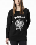 Motorhead - Everything Louder Black Women's Sweatshirt