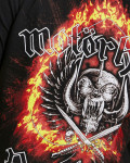 Motorhead - Bastards Flame Black Men's T-Shirt