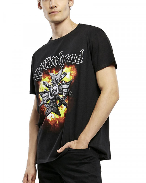 Motorhead - Bad Magic Flame Black Men's T-Shirt