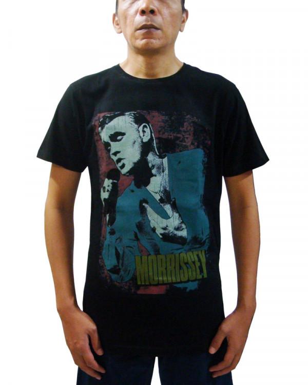 Morrissey - Grunge Black Men's T-Shirt