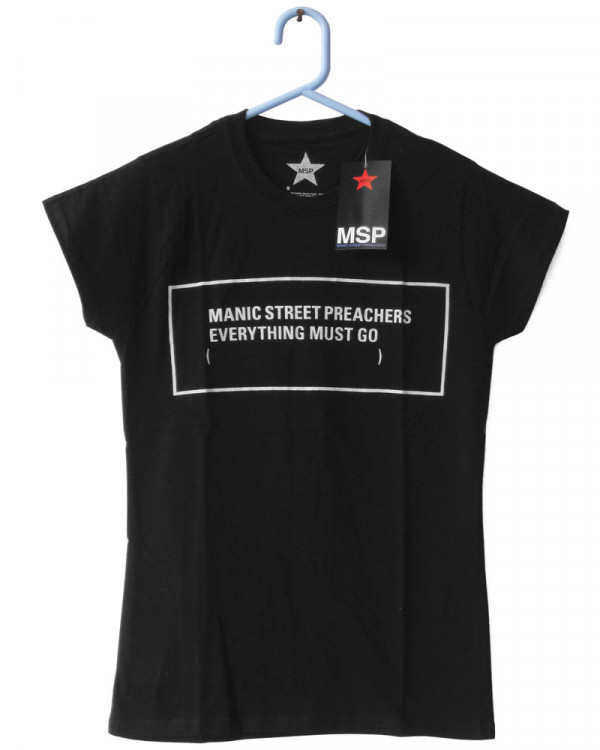 Manic Street Preachers - Everything Must Go Monochrome Women's T-Shirt