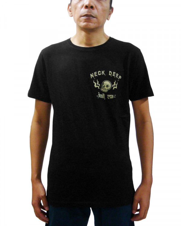 Neck Deep - Kali Ma Black Men's T-Shirt