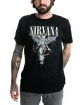 Nirvana - In Utero Galaxy Black Men's T-Shirt